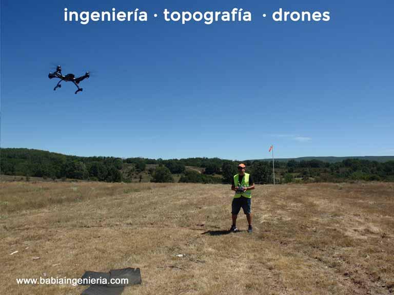 Drones para minas, canteras y movimientos de tierras.