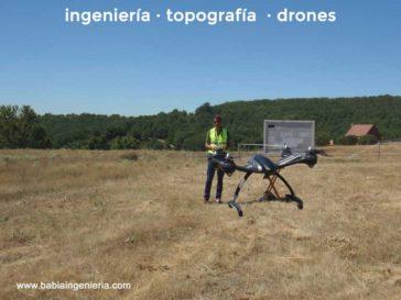 Drones para topografía en Castilla y León.